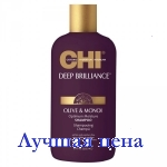 CHI Deep Brilliance Olive & Monoi Optimum Moisture Shampoo - Увлажняющий шампунь, 355 мл